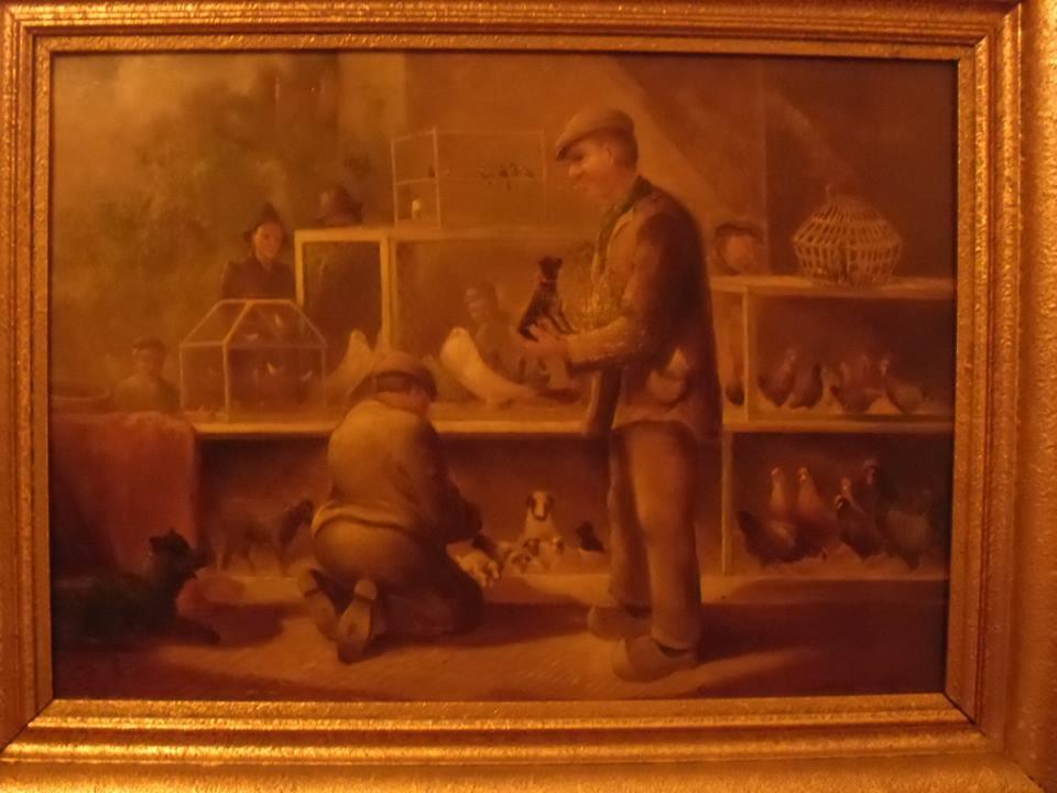 duivenschilderij