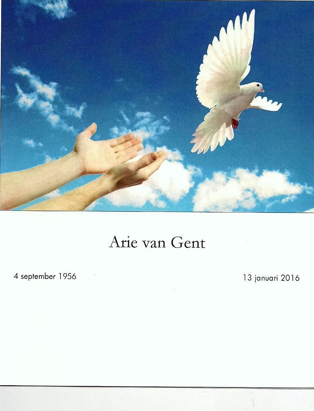 Arie van Gent